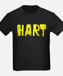 Hart Faded (Gold) T