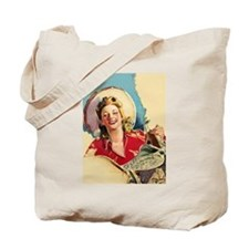 Hot Cowgirl Tote Bag