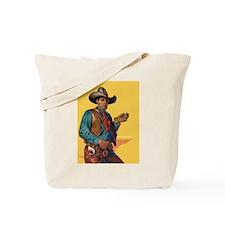 Handsome Cowboy Tote Bag
