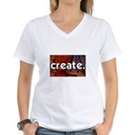Create - sewing crafts Women's V-Neck T-Shirt