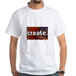 Create - sewing crafts White T-Shirt
