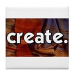 Create - sewing crafts Tile Coaster