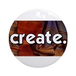 Create - sewing crafts Ornament (Round)