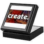 Create - sewing crafts Keepsake Box
