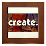 Create - sewing crafts Framed Tile