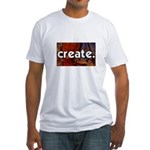 Create - sewing crafts Fitted T-Shirt