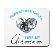Airforce Fiancee Diamond & Do Mousepad