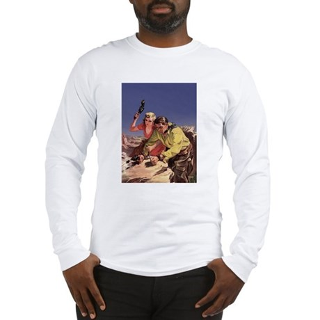 Escaping Cowboy Long Sleeve T-Shirt