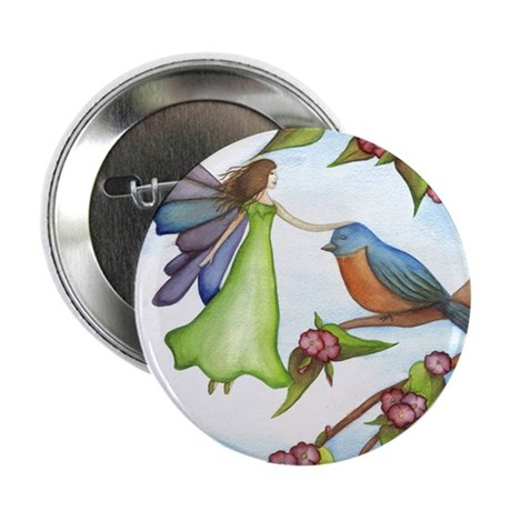 "Fairy Friends 2.25"" Button"