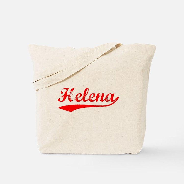 Vintage Helena (Red) Tote Bag