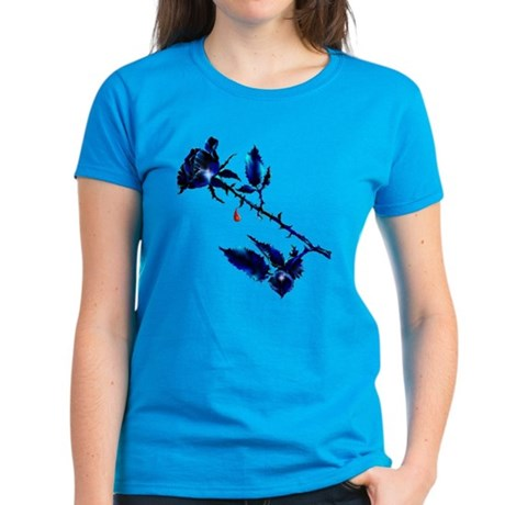 The Black Rose and Thorn Women's Dark T-Shirt