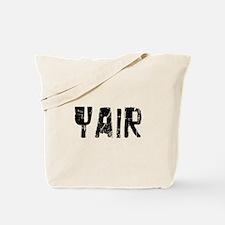 Yair Faded (Black) Tote Bag