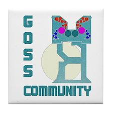 Tile Coaster-GOSS COMMUNITY UNIT