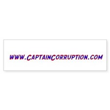 Captain Corruption dot com bumper 3