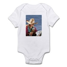 Cowboy Poker Infant Bodysuit