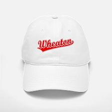 Retro Wheaton (Red) Baseball Baseball Cap