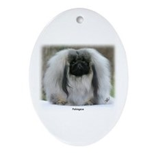 Pekingese 9Y111D-021 Ornament (Oval)