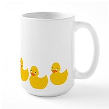 Duckies In A Row Mug