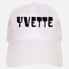 Yvette Faded (Black) Baseball Baseball Cap