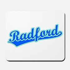 Retro Radford (Blue) Mousepad