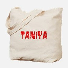 Taniya Faded (Red) Tote Bag