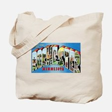 Rochester Minnesota Greetings Tote Bag