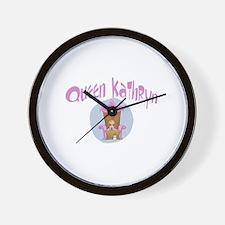 Queen Kathryn Wall Clock