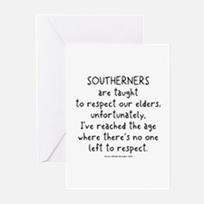 Southern Respect Greeting Cards (Pk of 10)