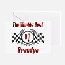 Racing Grandpa Greeting Card