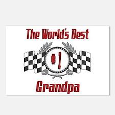 Racing Grandpa Postcards (Package of 8)