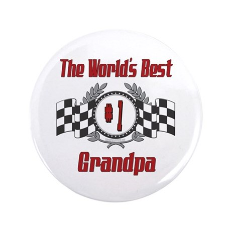 "Racing Grandpa 3.5"" Button (100 pack)"