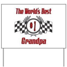 Racing Grandpa Yard Sign