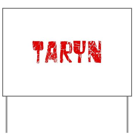 Taryn Faded (Red) Yard Sign