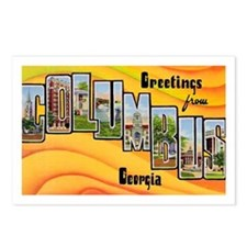 Columbus Georgia Greetings Postcards (Package of 8