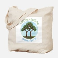 Earth Day Tree Tote Bag