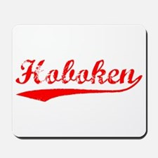 Vintage Hoboken (Red) Mousepad