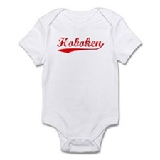 Vintage Hoboken (Red) Infant Bodysuit