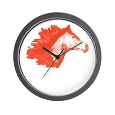 Wild Horse Head Wall Clock