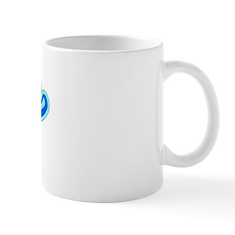 Retro Reno (Blue) Mug