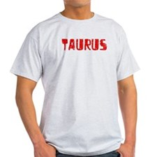 Taurus Faded (Red) T-Shirt