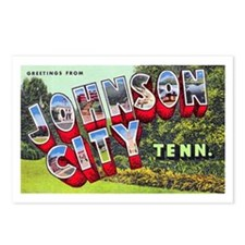 Johnson City Tennessee Postcards (Package of 8)