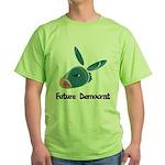 Future Democrat Green T-Shirt