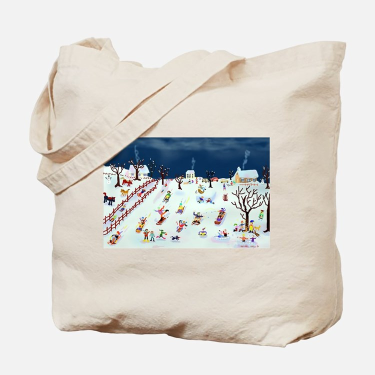Maple Street Hill Tote Bag