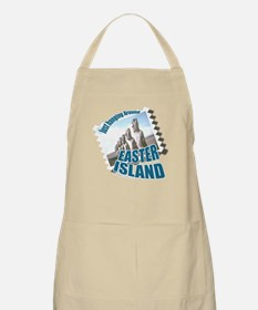 Visit Easter Island BBQ Apron