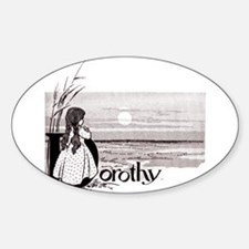 Dorthy Oval Decal