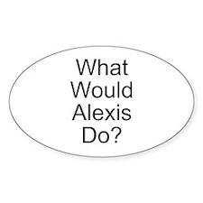 Alexis Oval Sticker (50 pk)