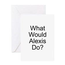 Alexis Greeting Card