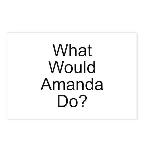 Amanda Postcards (Package of 8)