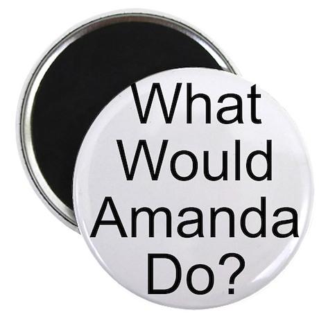 """Amanda 2.25"""" Magnet (10 pack)"""
