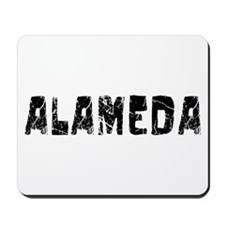 Alameda Faded (Black) Mousepad